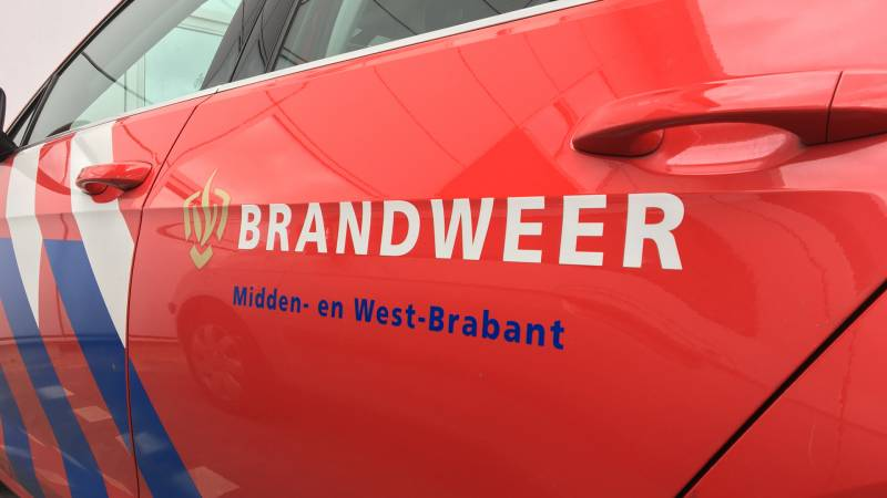 Brand in woning Hoeven snel onder controle