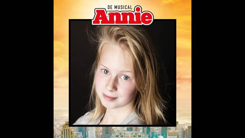 Etten-Leurs talent Caithlin van Gils in kindercast Annie