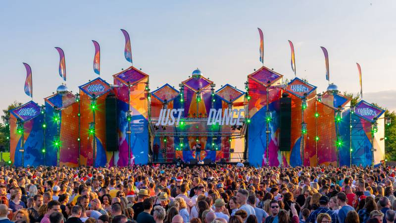 Just Dance Outdoor pas in zomer 2022 in Etten-Leur